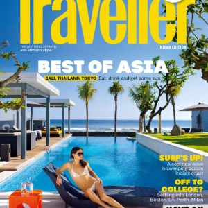 Conde Nast Trav India Magazine