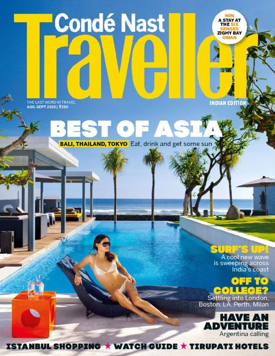Conde Nast Trav India Magazine 1