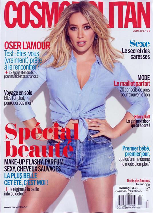 Cosmopolitan French Magazine Issue NO 523