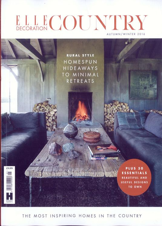 Elle Decoration Country Magazine Issue NO 9