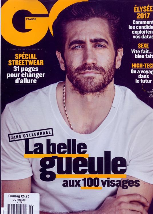 gq french magazine buy foreign language french magazine order