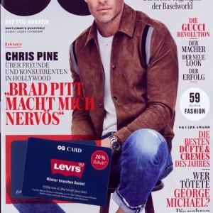 Gq German Magazine Issue NO 6