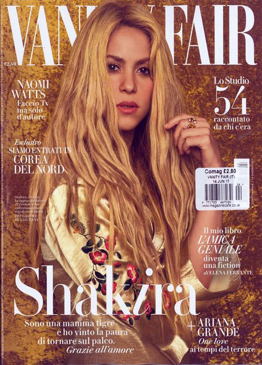 Vanity Fair Italian Magazine Issue 14/06/2017