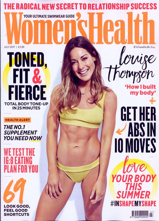 Womens Health Magazine Issue JUL 17