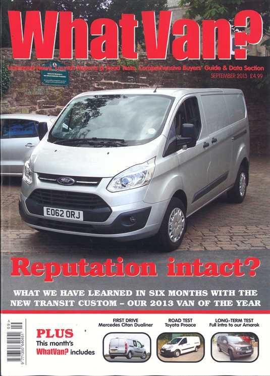 9f0f8935af What Van Magazine