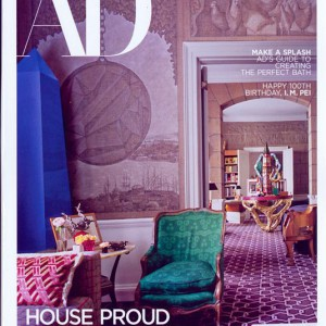 Architectural Digest Magazine Issue APR 17